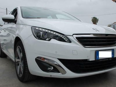 usata Peugeot 308 1.2 PureTech Turbo 130CV Allure Pelle Navi Km16155