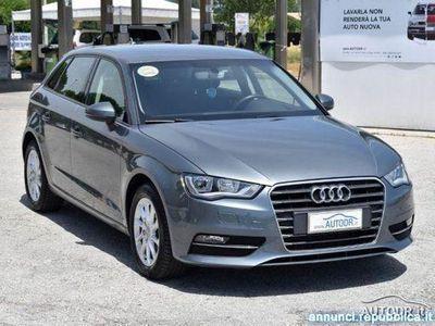 gebraucht Audi A3 SPB 1.6 TDI Euro6 NAVI GARANZIA KM CERTIFICATI rif. 11798264