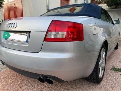usata Audi A4 Cabriolet 2.4 V6 30V cat
