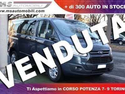 used Ford 300 tourneo custom2.2 tdci 125cv pl minibus titani diesel