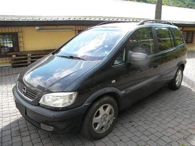 used Opel Zafira 1.8 16v Elegance 7 posti