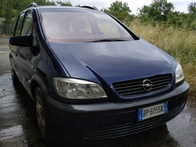 usata Opel Zafira benzina metano 1.6 ecom non paga bollo