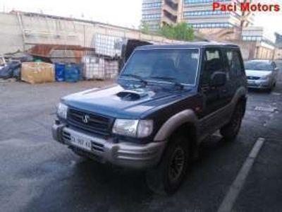 usata Hyundai Galloper 2.5 tdi corto auto diesel