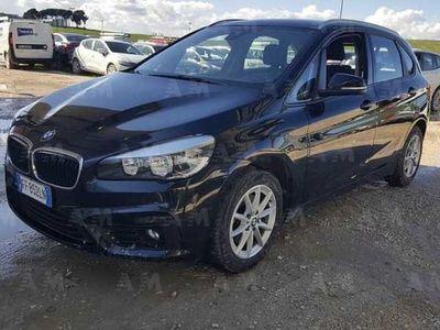usata BMW 216 Serie 2 Active Tourer d Advantage del 2016 usata a Silea
