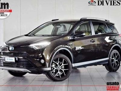 usata Toyota RAV4 Hybrid 4WD Style del 2017 usata a Torino