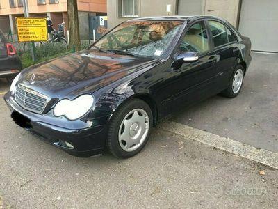 usata Mercedes C200 C 200 CDI cat Elegance