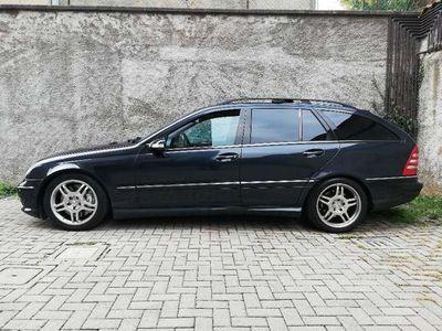 usata Mercedes C32 AMG AMG Classe (W/S203) Kompressor cat S.W.