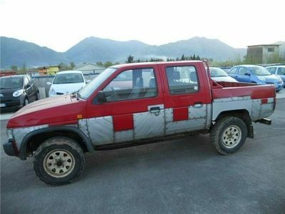 used Nissan King Cab 2.5 D PICK UP - CASSONE - DOUBLE CAB