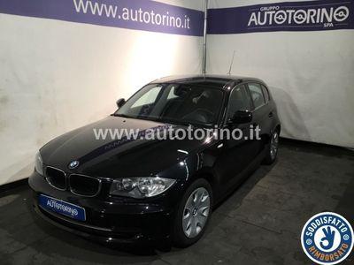 used BMW 118 SERIE 1 (5 PORTE) d 2.0 Eletta 143cv 5p Dpf