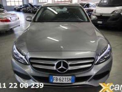 usata Mercedes C300 h S.W. Automatic Sport Elettrica/Diesel