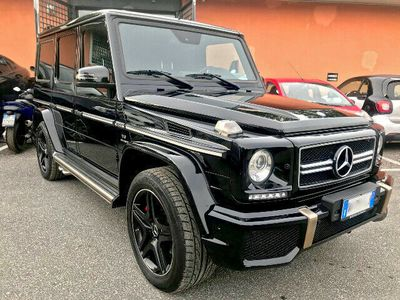 usata Mercedes G63 AMG AMG DESIGNO Fond Entertainment System H/K CARBON LOOK