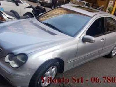 usata Mercedes C200 kompressor cat elegance evo gpl benzina/gpl