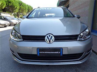 "usata VW Golf Variant 1.6 TDI 105 CV HIGHLINE NAVI BLUETOOTH CERCHI 17"""