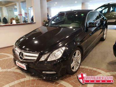 usata Mercedes E250 CDI Coupé BlueEFFICIENCY FULL OPTIONAL