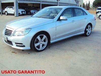 usado Mercedes E250 CDI BlueEFFICIENCY Avantgarde+Navi +Pelle-KM CERT.