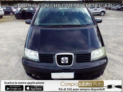 begagnad Seat Alhambra 1.9 TDI/131CV tip. Stylance