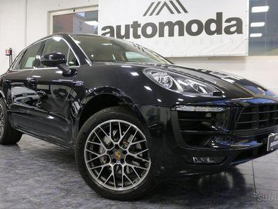 """gebraucht Porsche Macan 3.0 S Diesel""""1 PROPR. -KM CERTIFICATI"""