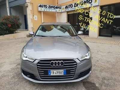 gebraucht Audi A6 2.0 tdi 190 cv s-tronic s.w. mavi pelle bi