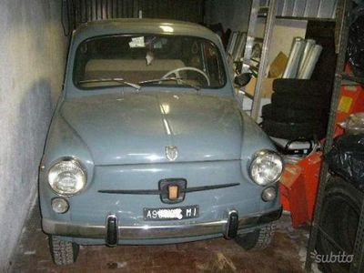 käytetty Fiat 600D (750 Fanalone)- Anni 60