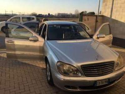 usata Mercedes S320 cdi cat navy pelle x commercianti diesel