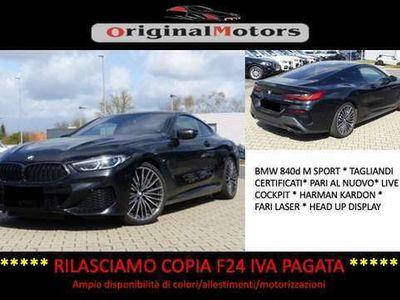 usata BMW 840 Serie 8 xDrive Coupé*Harman Kardon*HUD*Laser