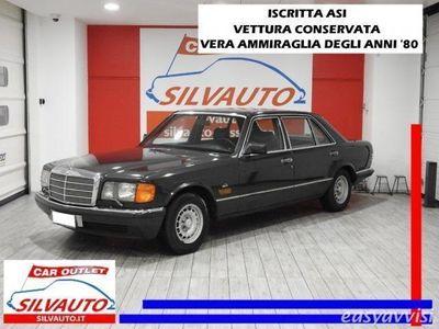 usata Mercedes 380 sel w126 cambio automatico benzina