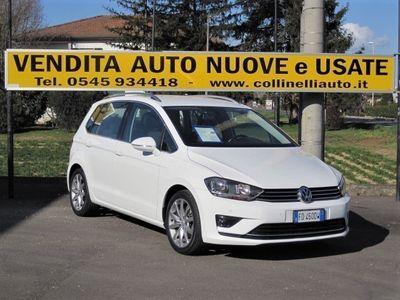 usata VW Golf Sportsvan 1.6 TDI 110 CV DSG Executive EU6