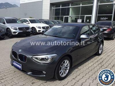 brugt BMW 118 SERIE 1 (5 PORTE) d Unique 5p