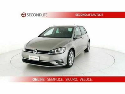 usata VW Golf 6ª serie VII 2017 5p 5p 1.6 tdi Executive 115cv dsg