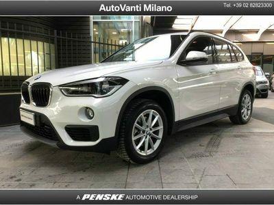 usata BMW X1 sDrive18d Business del 2019 usata a Milano