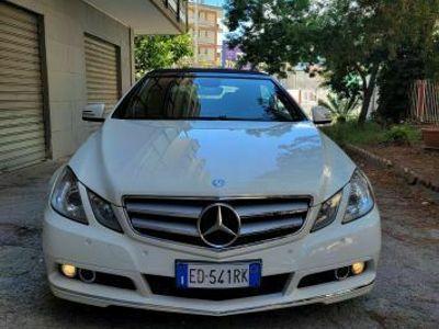 usata Mercedes E220 CDI Cabrio BlueEFFICIENCY Avantgar