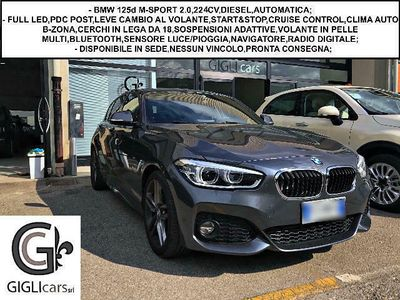 usata BMW 125 d M-SPORT C