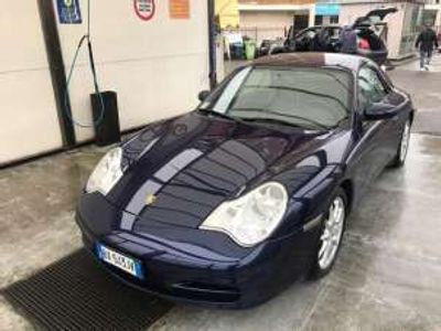usata Porsche 911 Carrera Cabriolet 996 cat 320 BOOk SERVICE Benzina