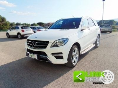 usata Mercedes ML250 ClasseBluetec 4Matic Premium, anno 2014, tagliandi certificati, 12 mesi di garanzia
