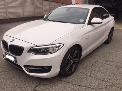 usata BMW 218 serie 2coupè F22-2017