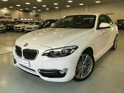 usata BMW 218 Serie 2 Coupé d Luxury aut. del 2019 usata a Saronno