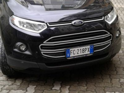 used Ford Ecosport - 2017