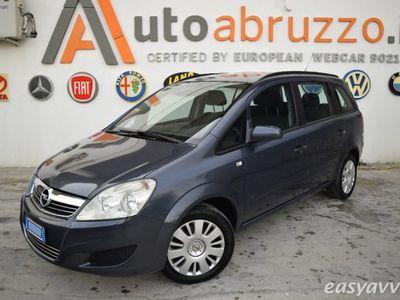 usata Opel Zafira 1.6 ecometano 94cv 7 posti gar 12/24 mesi benzina/metano