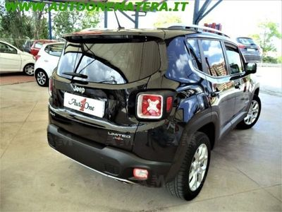 used Jeep Renegade 2.0 Mjt 140CV 4WD Active Drive Limited usato
