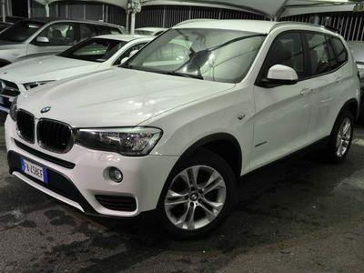 """usata BMW X3 XDRIVE 20D 190 CV 2PDC CERCHI 18"""" TAGLIANDI"""