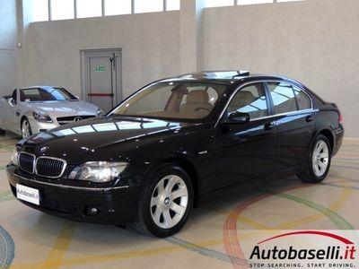 usata BMW 745 750i 367cv Euro4 + Tetto Apribile + Tv Digitale Usato