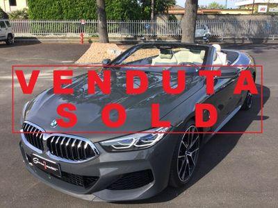 usata BMW M850 i xDrive Cabrio 530cv./UNIProprietario/IVA Esposta