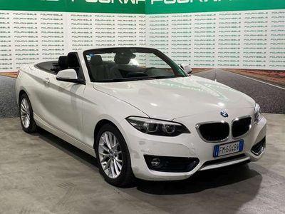 usata BMW 220 Serie 2 Cabrio(F23) Cabrio Advantage aut.