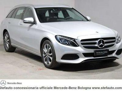 usata Mercedes C220 Classe C (W/S205)d S.W. 4Matic Auto Sport