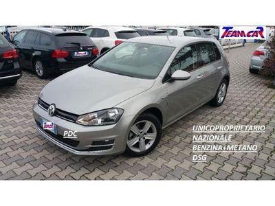 usata VW Golf 1.4 TGI DSG 5p.Highline BlueMot UNICOPROPRIETARIO