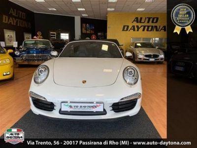 usata Porsche 911 Carrera S Cabriolet 911 3.8 Manuale 7 Rap. Spettacolare