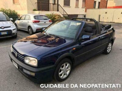 usata VW Golf Cabriolet 1.8/75cv ok neopatentati