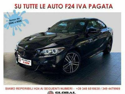 usata BMW 230 i Coupe M Sport SAG Navi Professional/Led