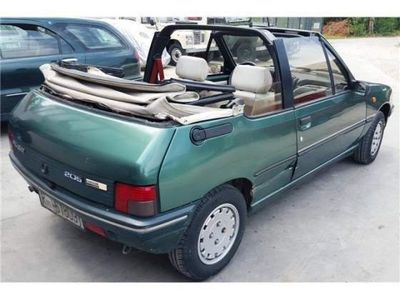 usado Peugeot 205 roland garros cabrio gpl ,ritiro permute parziali