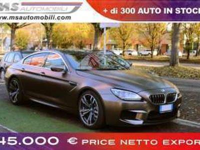 usata BMW M6 Gran Coupè Coupé PRICE NETTO EXPORT